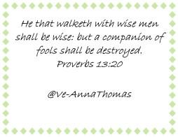 Proverbs 13-20