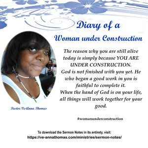 Sermon Photo - Women Under Construction 2
