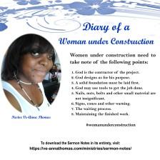 Sermon Photo - Women Under Construction 5