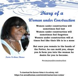 Sermon Photo - Women Under Construction 8