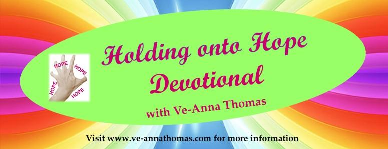 Holding onto Hope Devotions Flyer