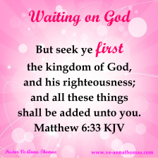 waiting-on-god-matthew-6-33
