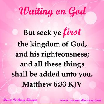 waiting-on-god-matthew-6-33