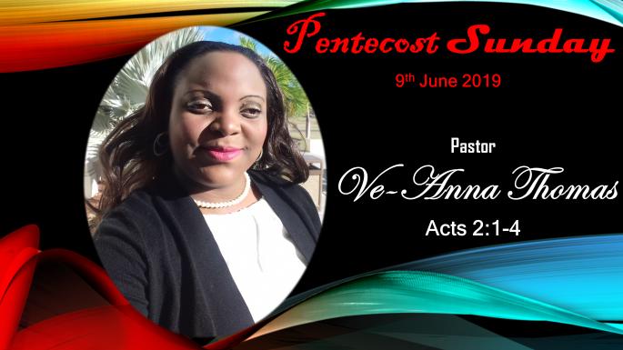VT Sermon - 9 June 2019 - TMC Pentecost Sunday (VIDEO)