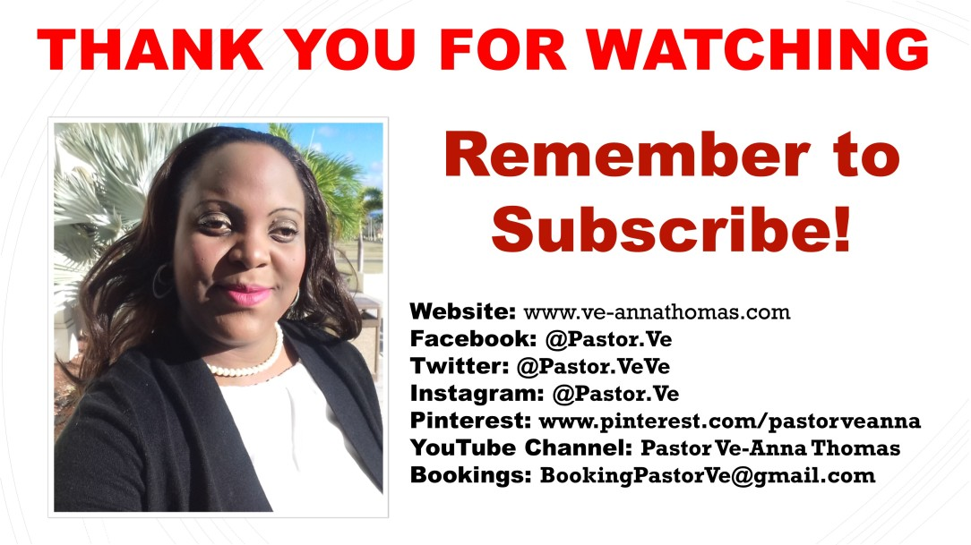 VT Sermon - 25 August 2019 - TMC - If Only You Will Stop Helping God (subscribe)