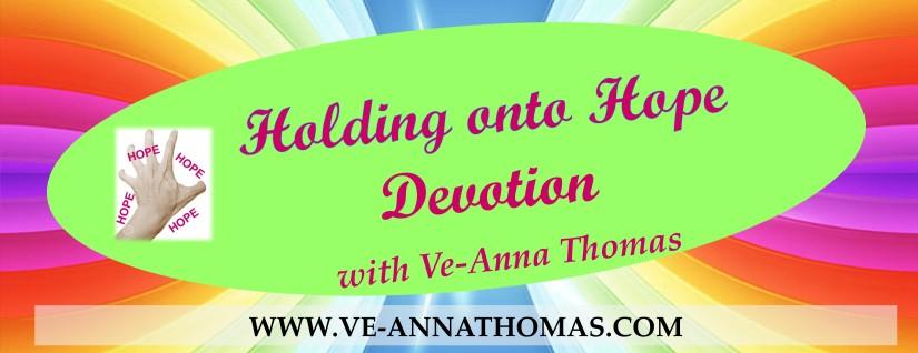 Holding onto Hope Devotion Flyer