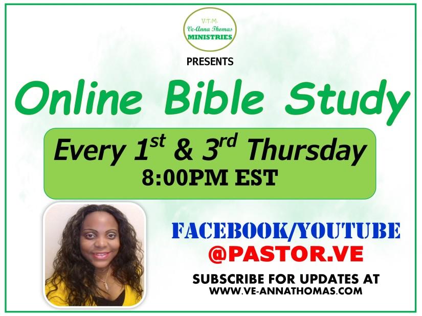 VTM - Online Bible Study Flyer (General)