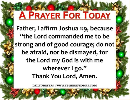 Prayer for Today - Fri 11 Dec 2020