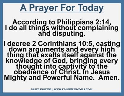 Prayer for Today - Fri 13 Nov 2020