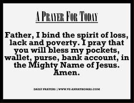Prayer for Today - Fri 18 Sept 2020