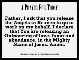 Prayer for Today - Fri 2 Oct 2020