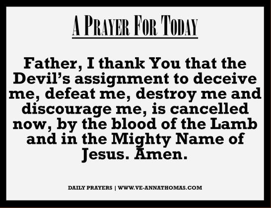 Prayer for Today - Fri 25 Sept 2020