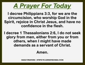 Prayer for Today - Fri 30 Oct 2020