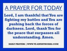 Prayer for Today - Fri 7 Aug 2020