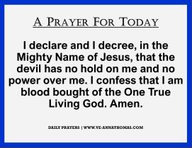 Prayer for Today - Fri 9 Oct 2020