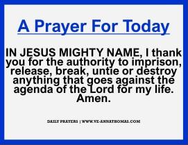 Prayer for Today - Mon 16 Nov 2020