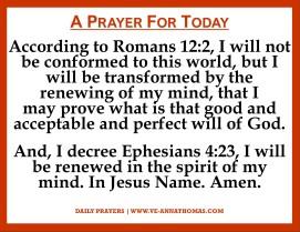 Prayer for Today - Mon 2 Nov 2020
