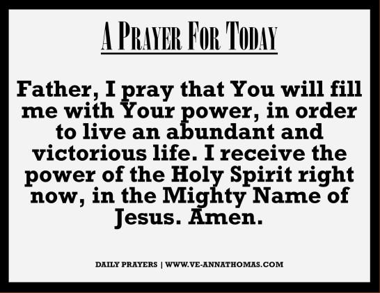 Prayer for Today - Mon 21 Sept 2020