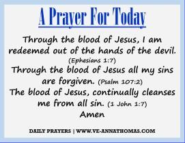 Prayer for Today - Mon 24 Aug 2020