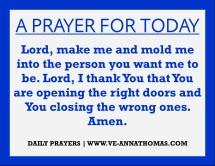 Prayer for Today - Mon 3 Aug 2020