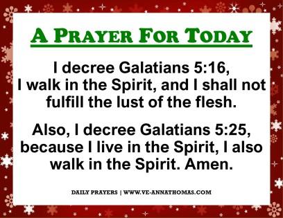 Prayer for Today - Mon 30 Nov 2020