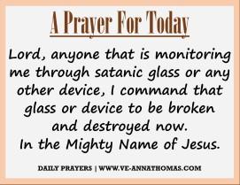 Prayer for Today - Mon 7 Sept 2020