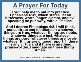 Prayer for Today - Mon 9 Nov 2020