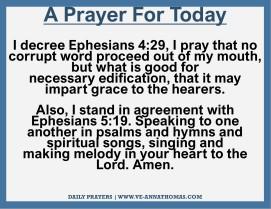 Prayer for Today - Sat 14 Nov 2020