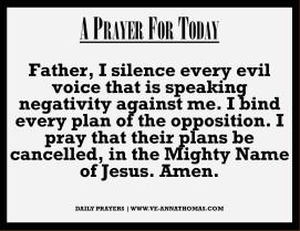Prayer for Today - Sat 19 Sept 2020