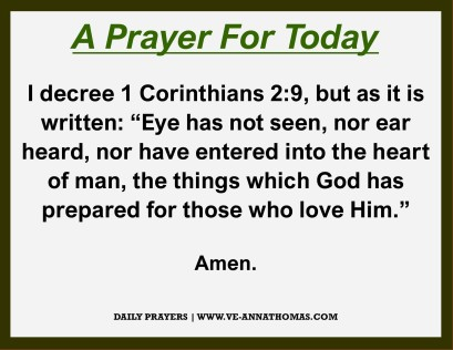 Prayer for Today - Sat 31 Oct 2020