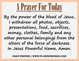 Prayer for Today - Sat 5 Sept 2020