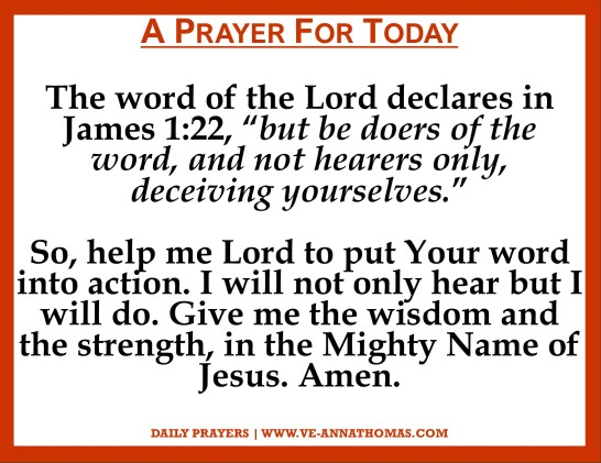 Prayer for Today - Sun 1 Nov 2020
