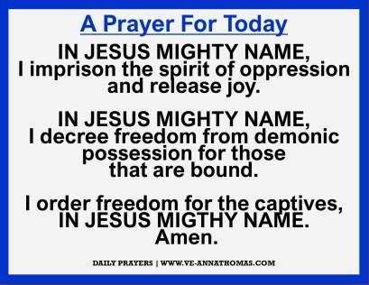 Prayer for Today - Sun 15 Nov 2020