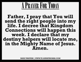 Prayer for Today - Sun 20 Sept 2020