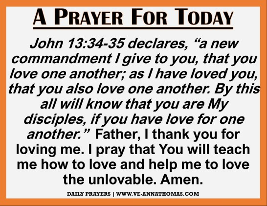 Prayer for Today - Sun 22 Nov 2020