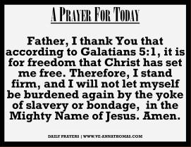 Prayer for Today - Sun 27 Sept 2020