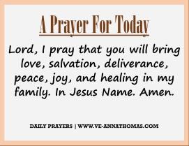 Prayer for Today - Sun 6 Sept 2020