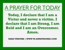 Prayer for Today - Thurs 13 Aug 2020