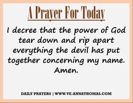 Prayer for Today - Thurs 3 Sept 2020