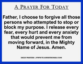 Prayer for Today - Wed 7 Oct 2020